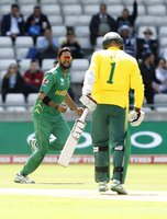 Pakistan  v South Africa, Edgbaston, UK - 7 Jun 2017