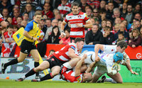 Gloucester v Exeter Chiefs, Gloucester, UK - 6 May 2017
