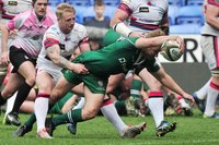 London Irish v Doncaster Knights, Reading UK - 6 May 2017