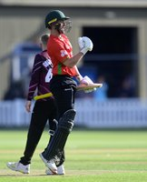 Somerset v Leicestershire Foxes, Taunton, UK - 10 Aug 2021