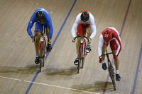 Cycling - Mens Sprint 1st Round Repechage 240714