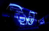 Taunton Racecourse Light It Blue,  UK - 3 Jul 2021