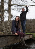 Jimmy and Bryony Frost, Buckfastleigh, UK - 8 Apr 2018