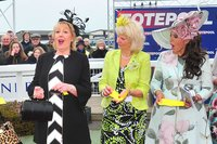 Taunton Races, Taunton, UK - 12 Apr 2018