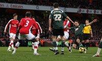 Arsenal v Plymouth Argyle Arsenal v Plymouth  030109