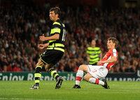 Arsenal v Celtic 260809