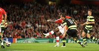 Arsenal v Celtic 260809