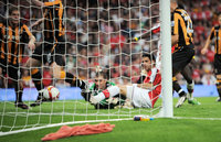 Arsenal v Hull City  270908