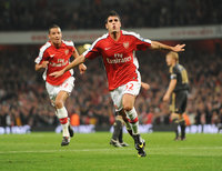 Arsenal v Liverpool 281009