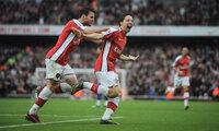 Arsenal v Manchester United  081108