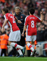 Arsenal v Manchester United  081108