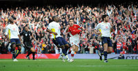 Arsenal v Spurs 311009