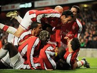 Arsenal v Spurs  291008