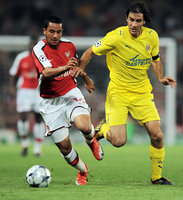 Arsenal v Villarreal 150409