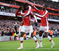 Arsenal v Wigan  061208