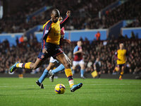 Aston Villa v Arsenal  261208