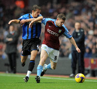 Aston Villa v Middlesbrough  091108