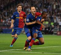 Barcelona v Manchester United 270509
