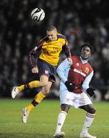 Burnley v Arsenal  021208