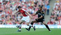 Arsenal v Man City 240410