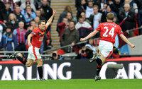 Aston Villa v Manchester United 280210