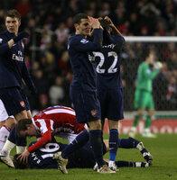 Stoke V Arsenal  270210