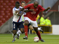 Nottingham Forest v Lyon 280710
