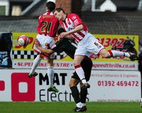 Exeter City v Walsall 270310
