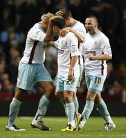 Aston Villa v Burnley 271010