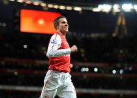 Arsenal v QPR  311211