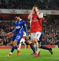 Arsenal v Ipswich  250111