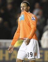 Blackpool  v Man Utd 250111