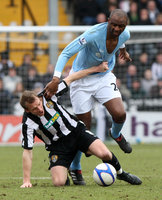 Notts Co v Man City  300111