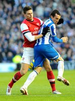 Brighton v Arsenal 260113