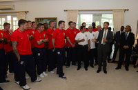 England C Governor's Reception 030613
