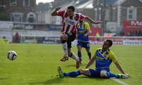 Exeter City v Accrington 290314