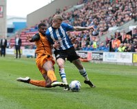 Wigan Athletic v Wolverhampton Wanderers 250415
