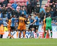 Wigan Athletic v Wolverhampton Wanderers 250415