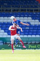 Oldham Athletic v Fleetwood Town 150815