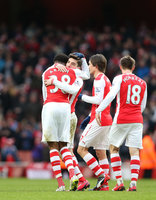 Arsenal v Aston Villa 010215