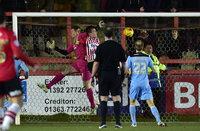 Exeter City v Cambridge United 100215