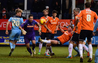 Luton Town v Cambridge United 310115