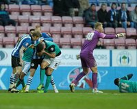 Wigan Athletic v Blackburn Rovers 170115