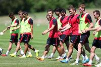 Exeter City Training 300615
