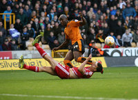 Wolves v   Middlesbrough 241015