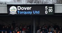 Dover Athletic v Torquay United 260316