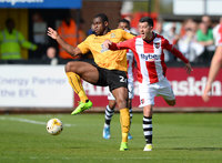 Cambridge United v Exeter City, Cambridge, UK - 17 Apr 2017