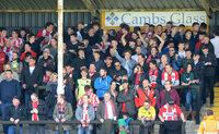 Cambridge United v Exeter City, Cambridge, UK - 17 Apr 2017