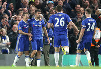 Chelsea v Southampton, London - UK - 25 Apr 2017
