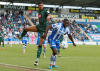 Colchester United v Plymouth Argyle, Colchester UK - 22 Apr 2017